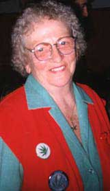 """The Democratic Party Club was named for """"Brownie"""" Mary Rathbun"""