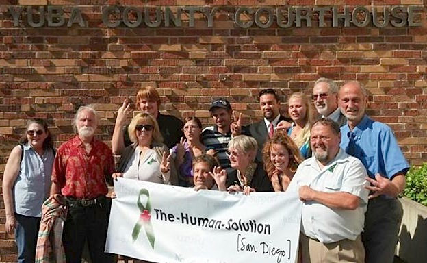 Human Solution supporters in Marysville